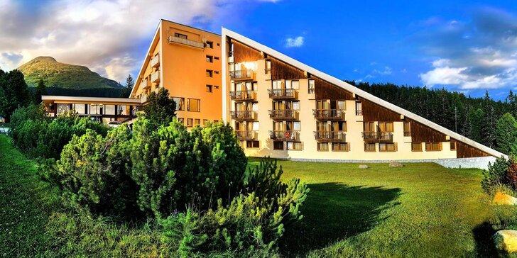 Oddych v legendárnom hoteli FIS*** na Štrbskom plese