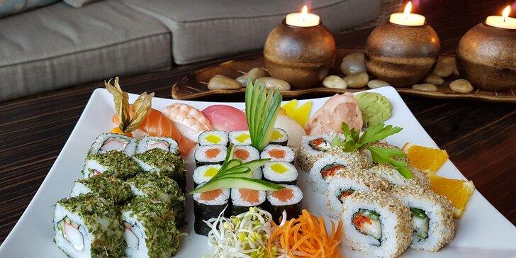 Jesenný sushi set (32 kúskov) v TOP Reštaurácii SUSHIHANIL