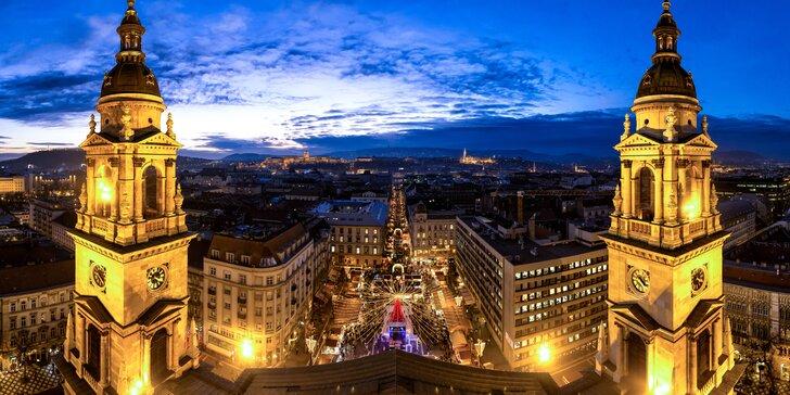 Adventný zájazd do Budapešti s prehliadkou mesta so sprievodcom