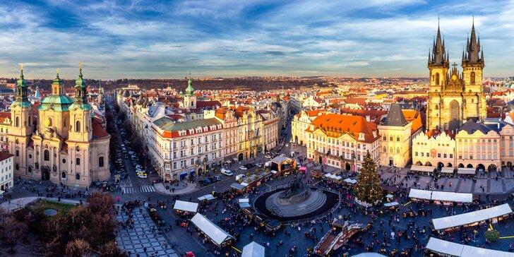 Poznávací zájazd do Prahy a Českého Krumlova aj s hotelovým ubytovaním
