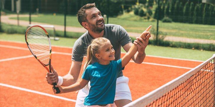 Tenisové kurzy pre dospelých aj pre deti