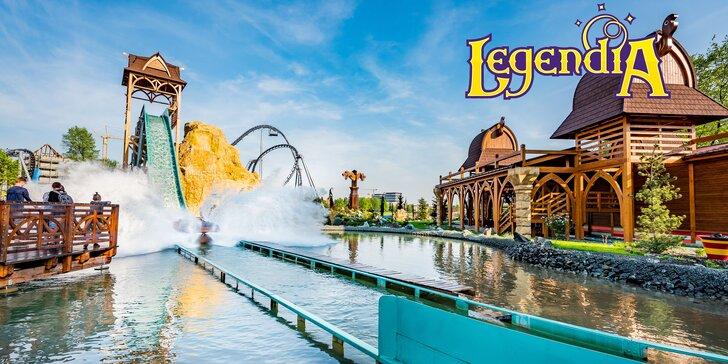 Vstup do Legendie - najstaršieho poľského zábavného parku