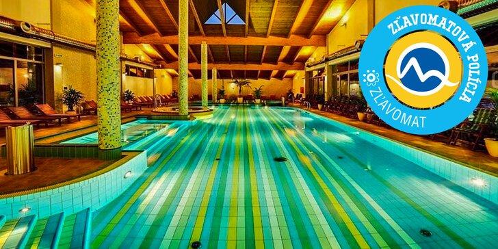 Wellness Hotel Bystrá*** s neobmedzeným vodným a saunovým svetom na juhu Nízkych Tatier