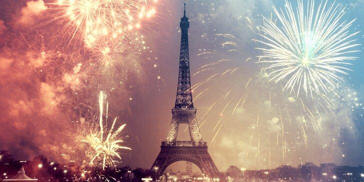 Silvestrovské oslavy v Paríži!
