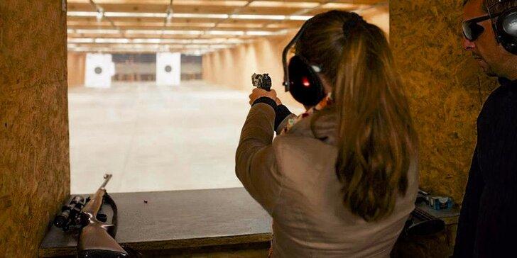 Zastrieľajte si na krytej strelnici pod dohľadom certifikovaného inštruktora