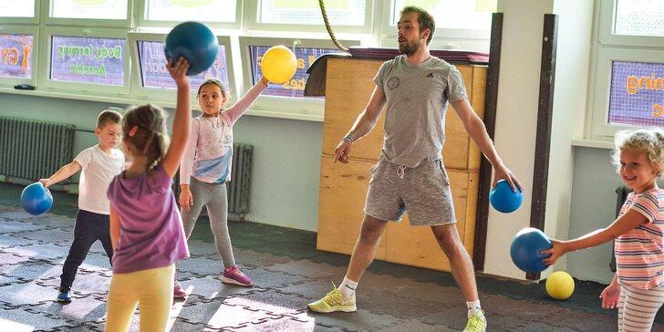 Gymnastika pre deti od 3 - 12 rokov! Kurz podľa výberu na 1 alebo 3 mesiace