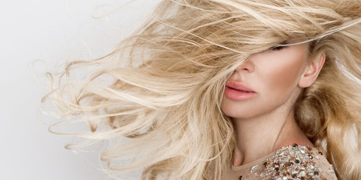 Nový strih, farba alebo melír a regenerácia pre vaše vlasy
