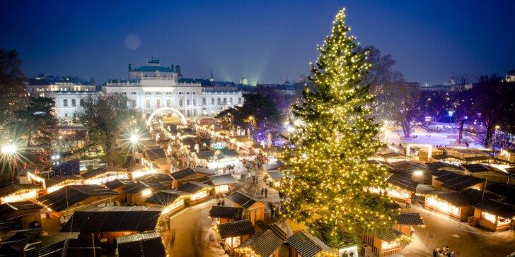 Viedeň, vianočné trhy i nákupy v Primarku
