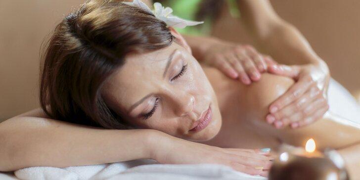 Športová alebo relaxačná masáž a pobyt v infrasaune