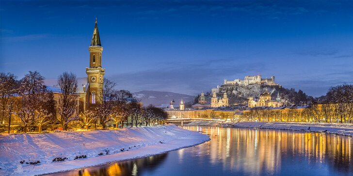 Adventný zájazd do očarujúceho Salzburgu