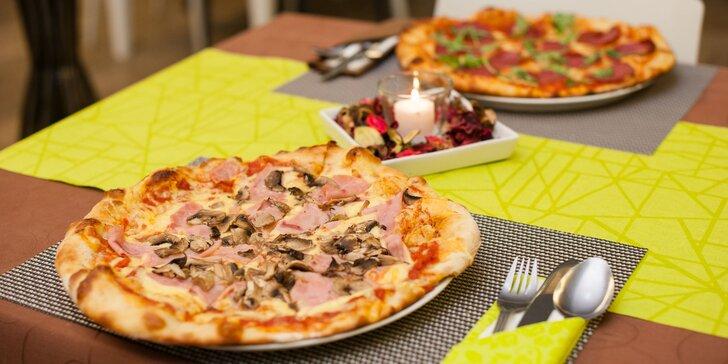 Pizza podľa vlastného výberu. V ponuke aj detské menu!