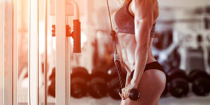Permanentka do fitnesscentra s možnosťou využitia osobného trénera