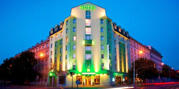 Hotel Plaza Alta Praha**** blízko historického centra + dieťa zdarma