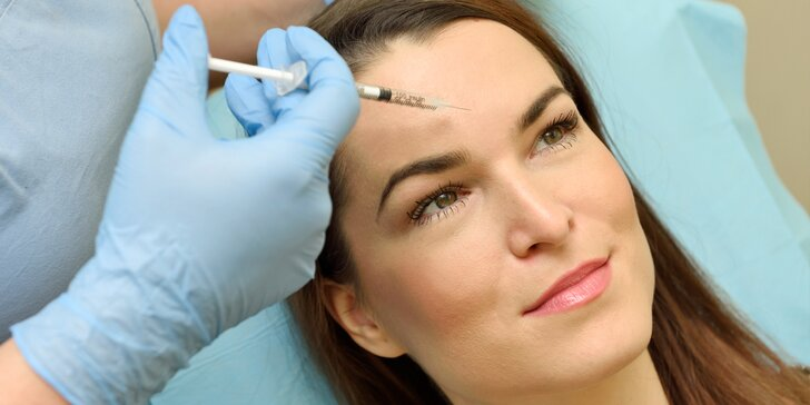 Profesionálne vyhladenie vrások alebo odstránenie potenia botoxom