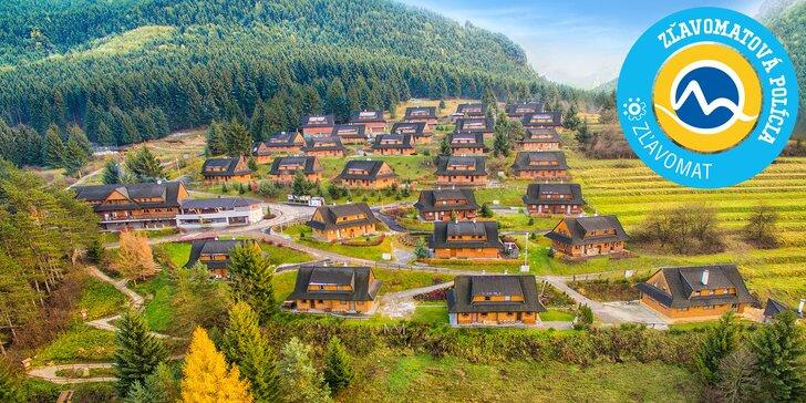 Jesenný pobyt v Drevenice Terchová resort s novým wellness centrom