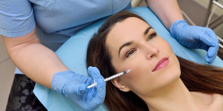 Omladenie tváre s kyselinou hyalurónovou a kúra pre krásne vlasy