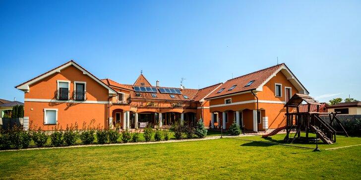 Pobyt v nových apartmánoch Villa Lagúna pri kúpalisku Thermal Corvinus Veľký Meder
