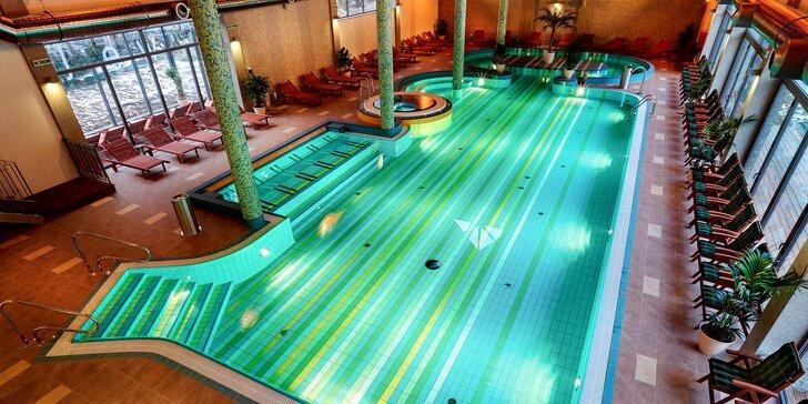 Vstup do vodného a saunového sveta Wellness hotela Bystrá***