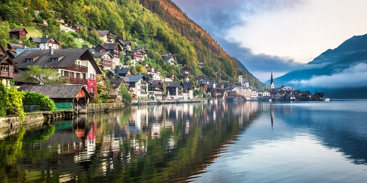 Hallstatt a Salzburg s plavbou po Wolfgangsee počas 2 dní