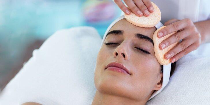 Hĺbkové čistenie pleti alebo ošetrenie ultrazvukom s masážou