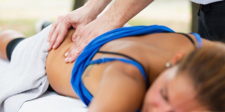 Klasická alebo športová masáž v Hoteli Bratislava