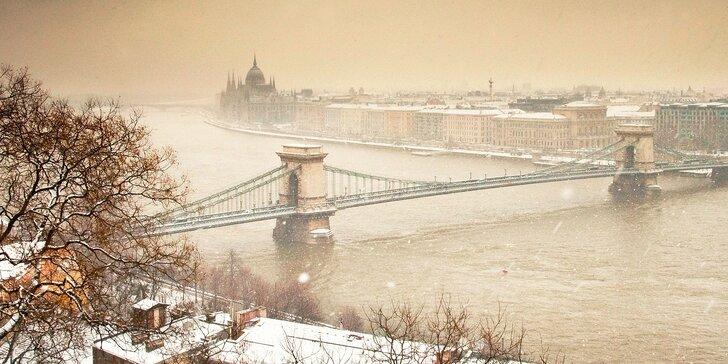 Oddych pre dvoch priamo v historickom centre Budapešti!