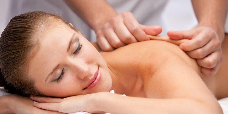 Klasické masáže chrbta a šije alebo lymfodrenážne masáže