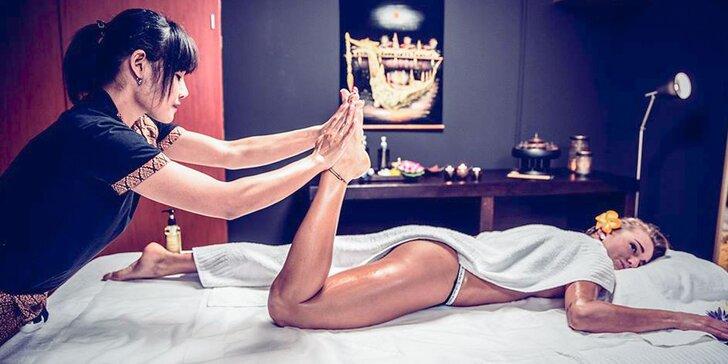 Thajská masáž chrbta a šije či celého tela v Bešeňovej