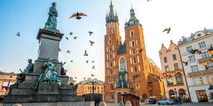 Pobyt s raňajkami v centre Krakova - deti do 5 rokov zadarmo!