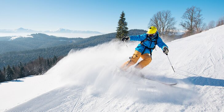 Celosezónny skipass v Ski Krahule - poďte si po zimné zážitky!