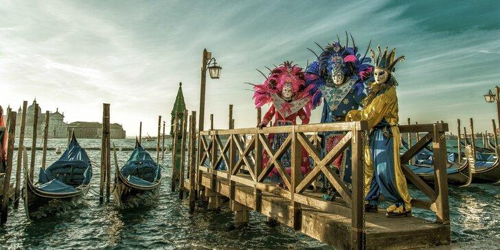 Benátsky karneval, Jazero Bled a Zámok Miramare za 3 dni!