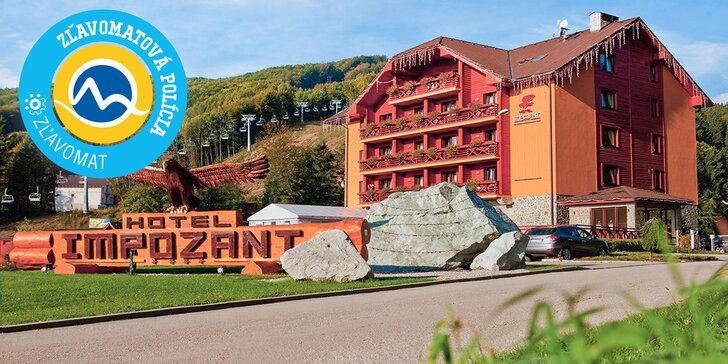Wellness & Ski pobyt Hoteli Impozant**** s každodenným wellness v srdci Valčianskej doliny v Malej Fatre