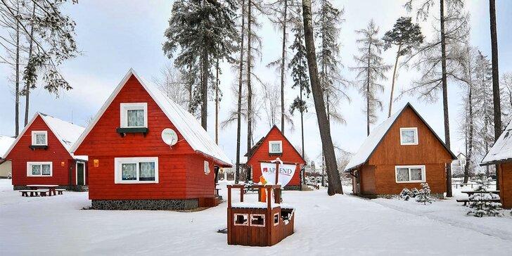 Pobyt vo Vysokých Tatrách v štúdiách, apartmánoch, chatkách alebo domčekoch