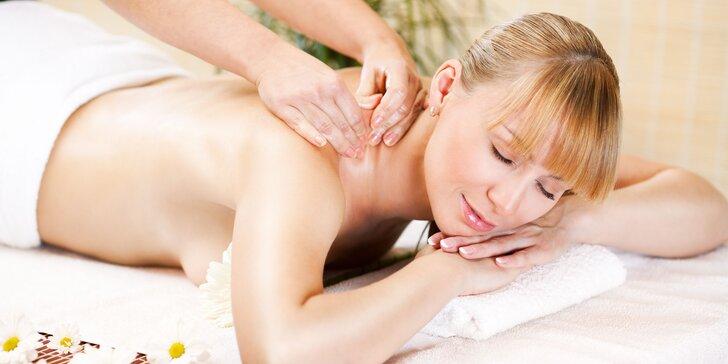 Klasická masáž s možnosťou saunovania či vianočný balíček