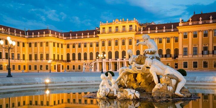 Spoznajte vianočnú Viedeň a zámok Schönbrunn!
