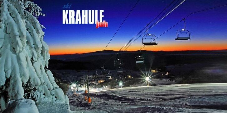 Celodenný skipas alebo večerné lyžovanie v stredisku SKI KRAHULE!