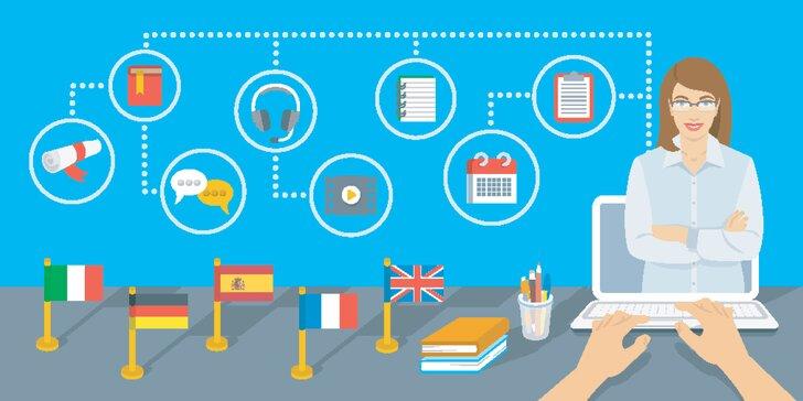 Online jazykové kurzy podľa výberu!