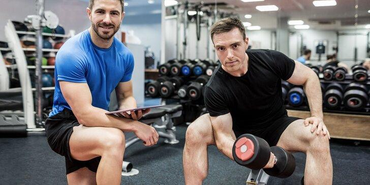 Cvičebný program s trénerom v STAR fit - príďte dvaja!