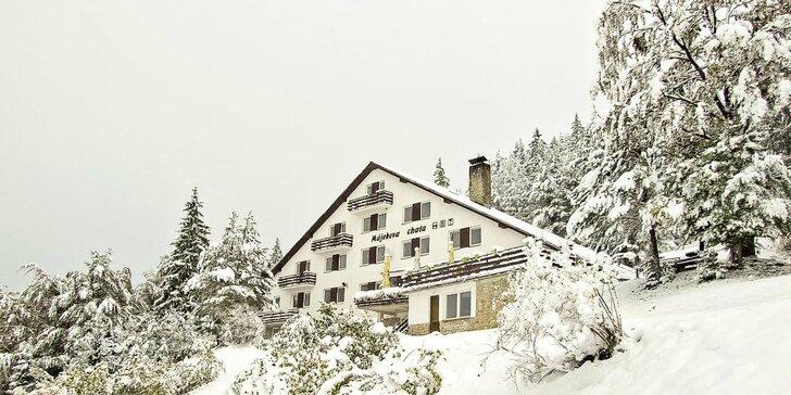 Lyžiarsky pobyt v útulnej horskej chate na Malinô Brde