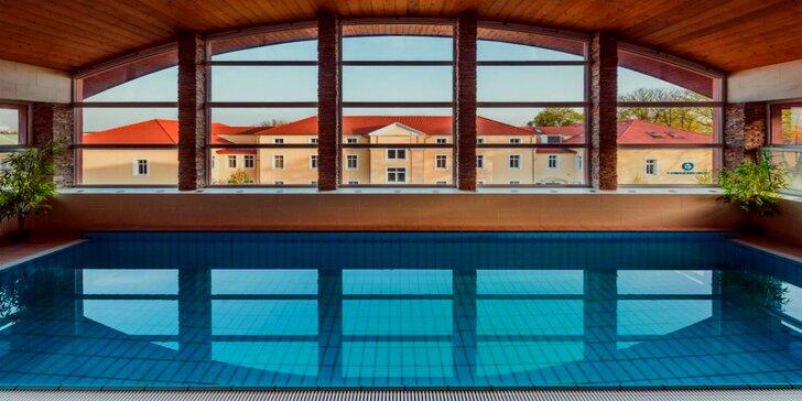 Luxusný wellness pobyt so vstupom do kúpeľov Rába Quelle v Győri