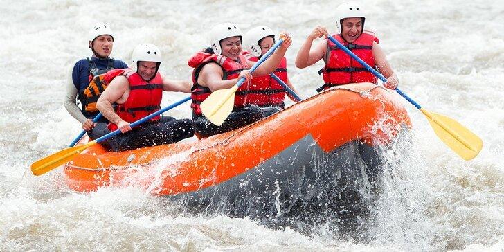 Rafting na rieke Belá aj s foto a videozáznamom
