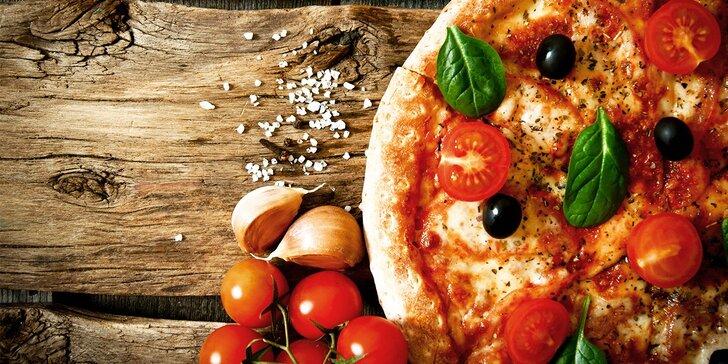 Výborná klasická talianska PIZZA