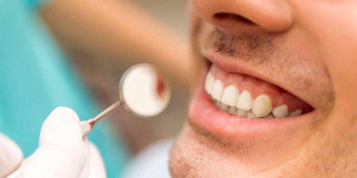 Dentálna hygiena, ošetrenie zubného kazu či nová korunka