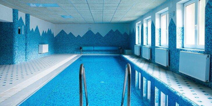 Zimný relax v Hoteli Podjavorník s wellness a možnosťou lyžovania priamo pri hoteli v krásnej prírode Javorníkov