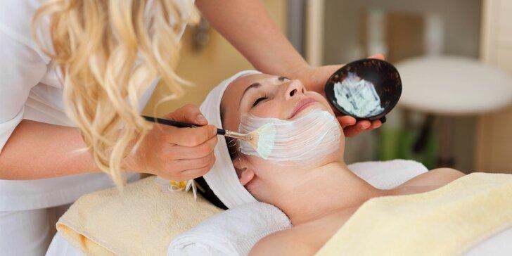 Profesionálne kozmetické ošetrenia pleti podľa výberu