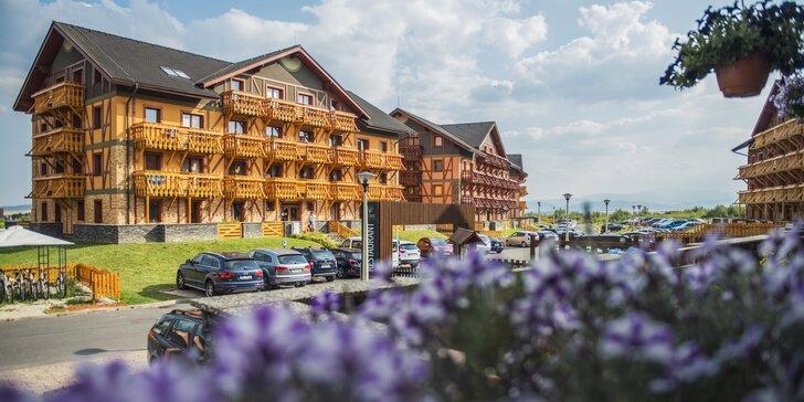 Ubytovanie v jedno alebo dvojizbových apartmánoch Tatragolf**** Mountain Resort