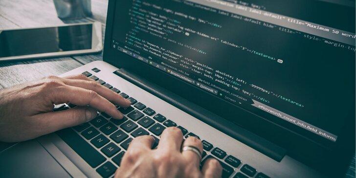 Exkluzívne on-line kurzy programovania na reálnych príkladoch