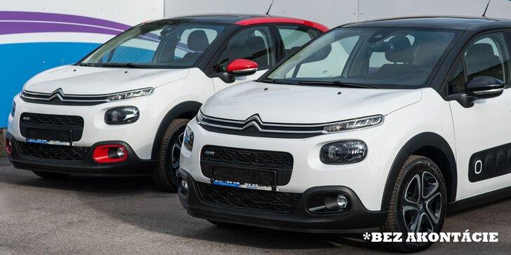 Jazdite bez starostí! Nový Citroën či Opel v nadštandardnej výbave