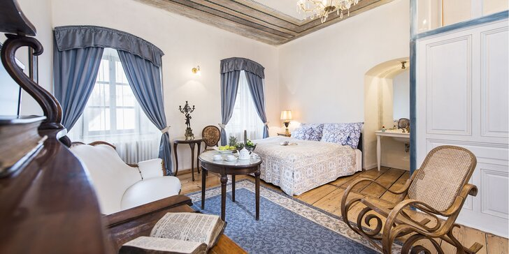 Romantický kráľovský pobyt ako z rozprávky v hradnom hoteli Chateau GrandCastle****
