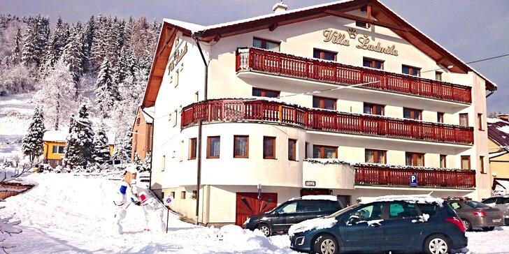 SKI & WELLNESS pobyt vo Ville Ľudmila *** pri Snowparadise Veľká Rača